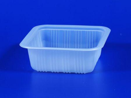 Boîte d'étanchéité en plastique TOFU pour aliments surgelés pour micro-ondes PP 650g - Boîte d'étanchéité en plastique TOFU pour aliments surgelés pour micro-ondes PP 650g