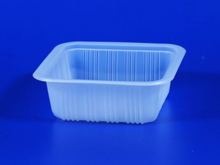PP微波冷凍食品塑膠650g豆腐封口盒 - PP微波冷凍食品塑膠650g豆腐封口盒
