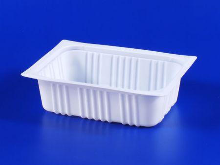PP微波冷凍食品塑膠680g豆腐封口盒 - PP微波冷凍食品塑膠680g豆腐封口盒