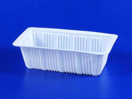 PP電子レンジ冷凍食品豆腐プラスチック700g-2シーリングボックス - PP電子レンジ冷凍食品豆腐プラスチック700g-2シーリングボックス