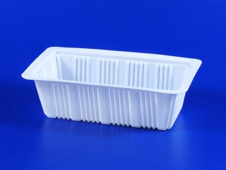 PP微波冷凍食品塑膠700g豆腐封口盒-2 - PP微波冷凍食品塑膠700g豆腐封口盒-2