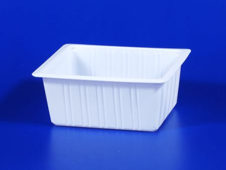PP microwave frozen na pagkain TOFU plastic 700g sealing box - PP microwave frozen na pagkain TOFU plastic 700g sealing box