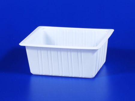 Boîte d'étanchéité en plastique 700g pour aliments surgelés pour micro-ondes PP TOFU - Boîte d'étanchéité en plastique 700g pour aliments surgelés pour micro-ondes PP TOFU