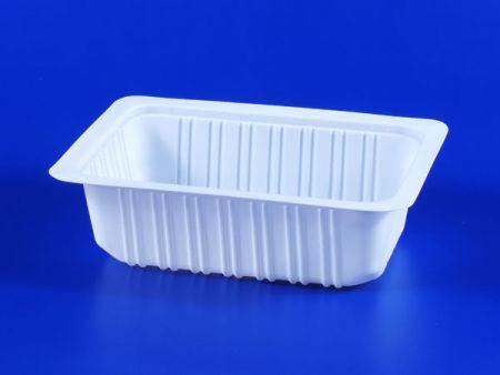 PP微波冷凍食品塑膠800g豆腐封口盒 - PP微波冷凍食品塑膠800g豆腐封口盒