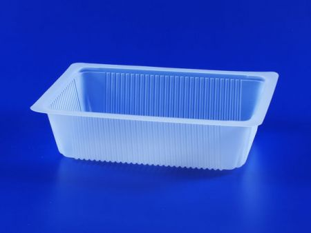 PP微波冷凍食品塑膠930g豆腐封口盒 - PP微波冷凍食品塑膠930g豆腐封口盒