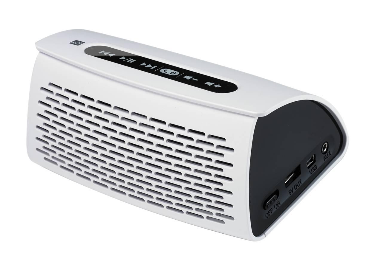 宏塑技术可应用于蓝芽喇叭、智慧音箱、多功能喇叭、音响、POS机。