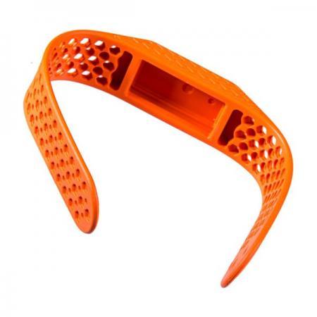 Technologie FORESHOT appliquée au bracelet en silicone.