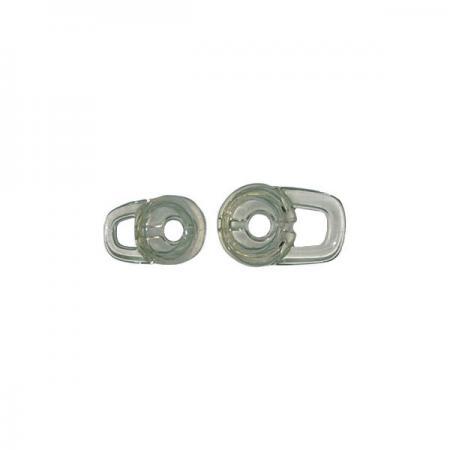 Technologie FORESHOT appliquée aux bouchons d'oreilles en silicone et en caoutchouc.