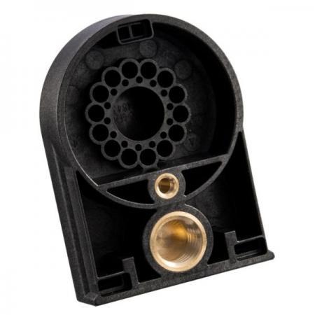 埋入射出成型可应用于电子零组件。