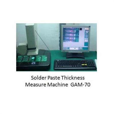 SMT锡膏厚度量测机。