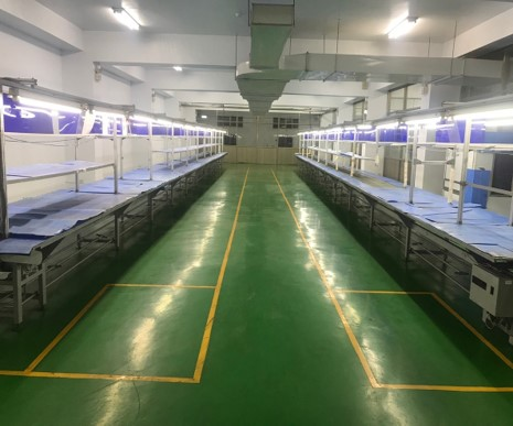Foreshot Dayuan Factory(Taiwan) Restart System & Accessory Assembly Lines