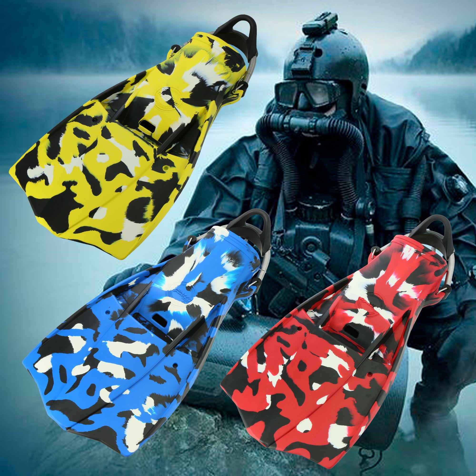 Scuba Military Jetfin Camouflage - Scuba Military Jetfin Camouflage