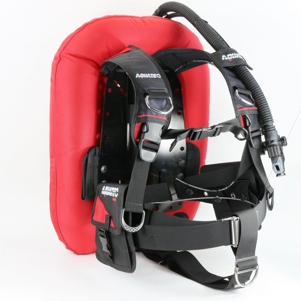 TecDive Backmount BCD - BC-932 Deep Ocean Wing (Red)