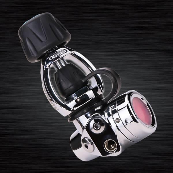 स्कूबा फर्स्ट स्टेज बैलेंस्ड डायफ्राम रेगुलेटर (योक) - RG-4100F डाइविंग रेगुलेटर ICE YOKE