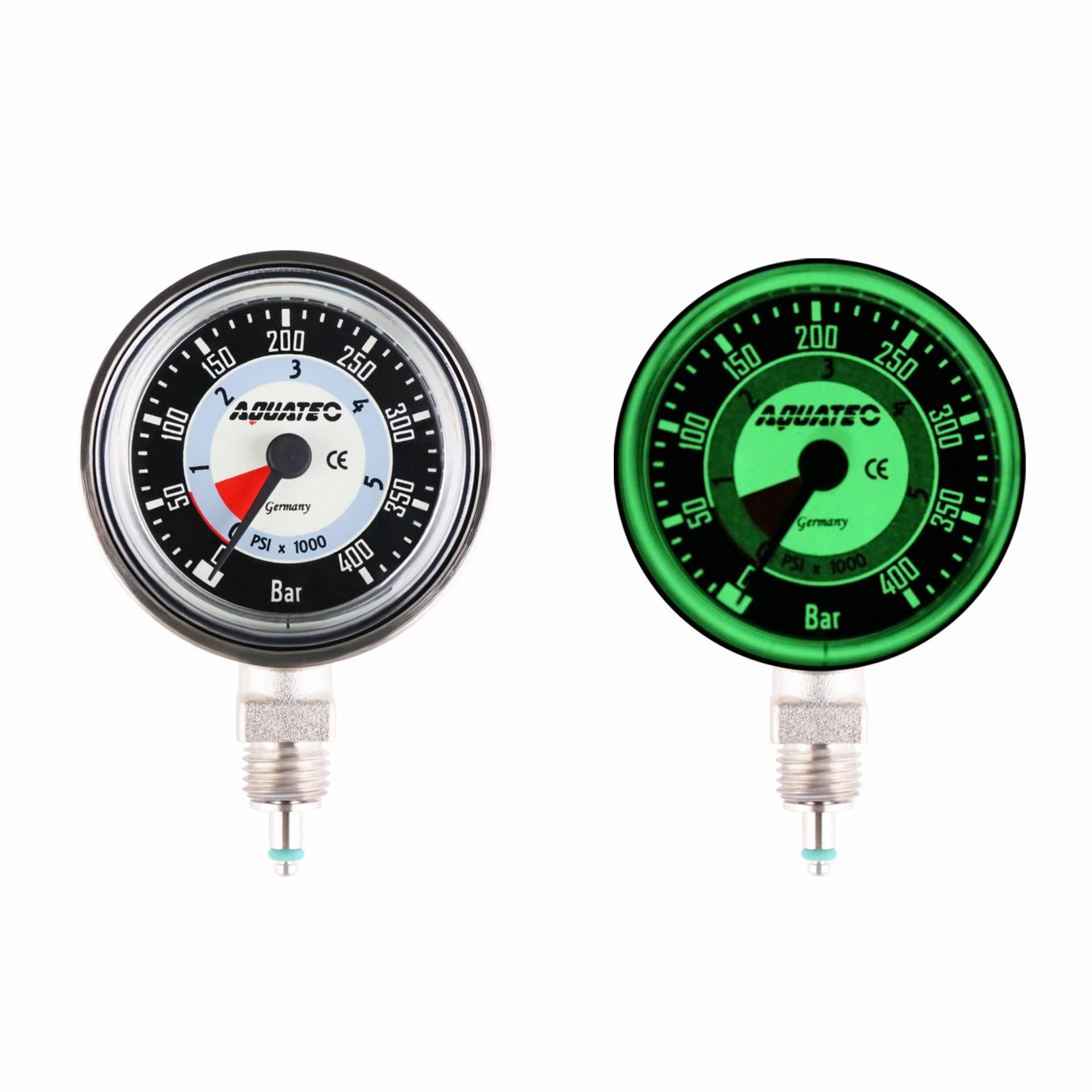 Dive Pressure Gauge - Metal Pressure Gauge