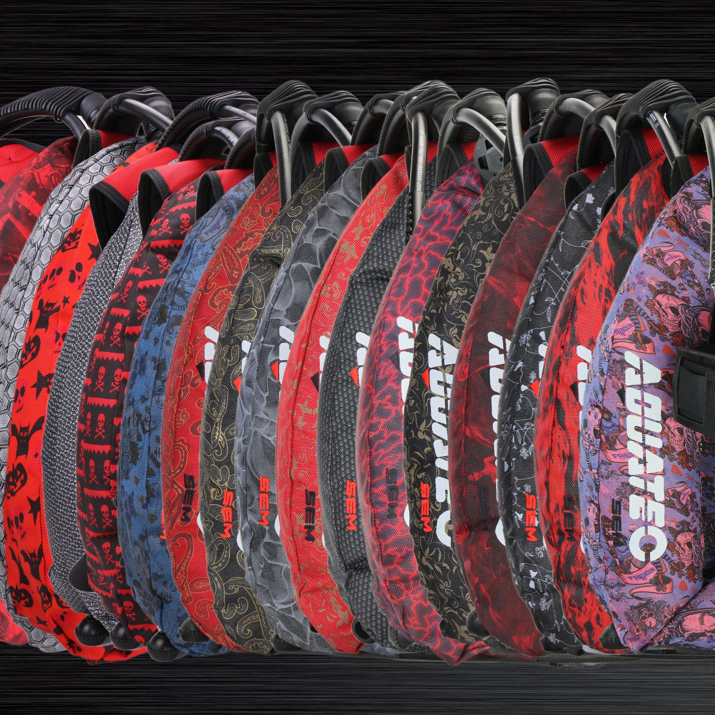 Aquatec värikäs valjaat mono valtameren siipi paketti - Aquatec värikäs valjaat mono valtameren siipi