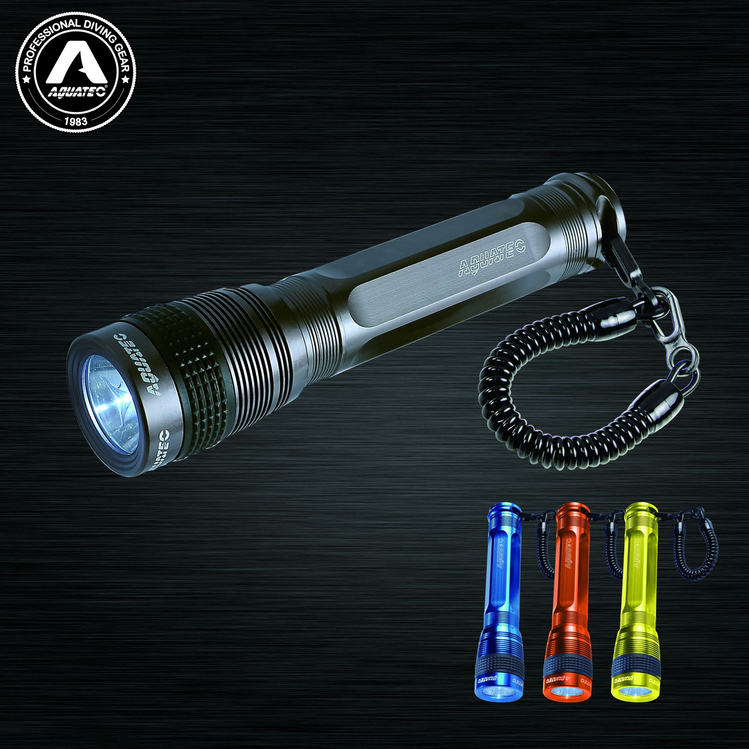 LED Scuba Flashlight - LED-3250 Diving Torch