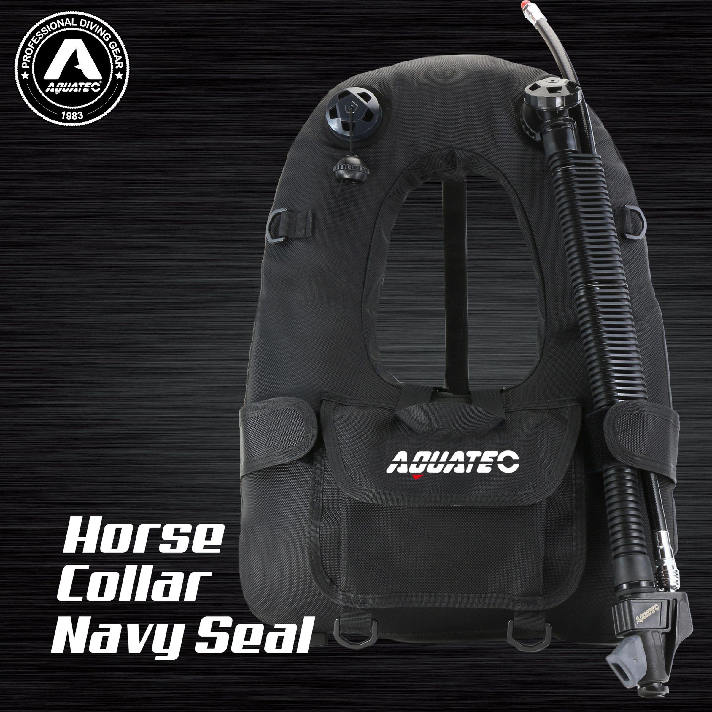 Colar de cavalo de mergulho da Marinha BCD - Colarinho da Marinha bcd