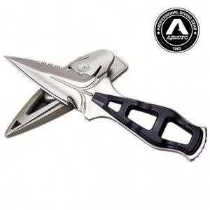 Sea Hunter Sharp Tip Scuba Knife - KN-170SP Scuba Fishing Knife