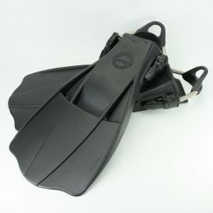 Buntes Totem Militär JetFin - Aquatec Black JetFin