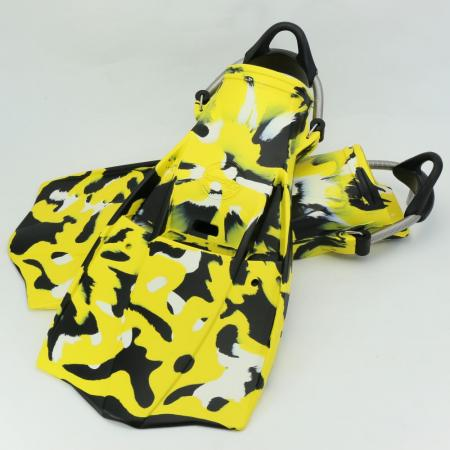 Military Yellow Camouflage Jet Fin