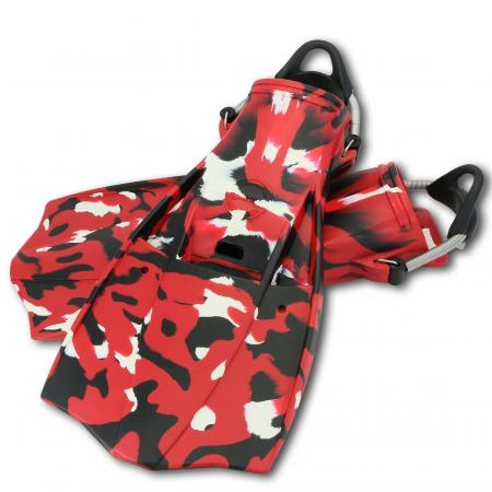 JetFin Camouflage Red