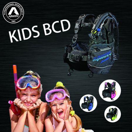 BCD เด็ก - BC-3S เด็กดำน้ำ BCD