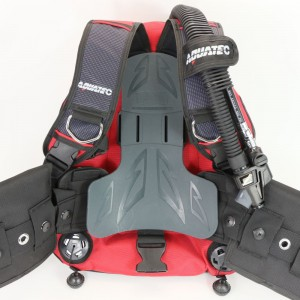 Backmount dount wing with soft pad.
