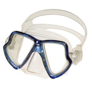 Scuba Waparond-masker - MK-400 (BL) Duikmasker