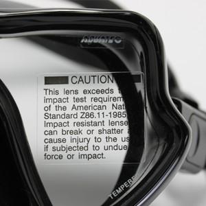 MK-600 (BK) Freediving Silikon Maske