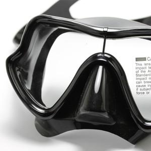 MK-600 (BK) Schnorcheln Silikon Maske
