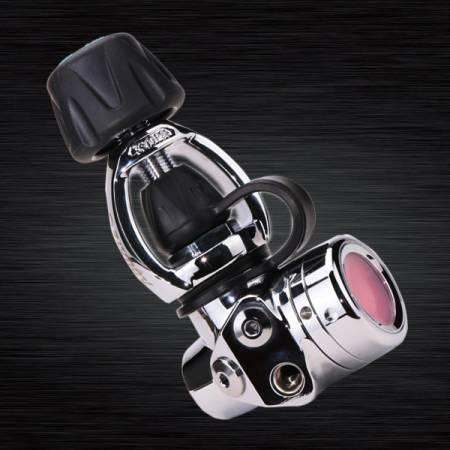 Reguladores de diafragma balanceado de primeiro estágio do mergulho (Yoke) - Reguladores de mergulho RG-4100F ICE YOKE