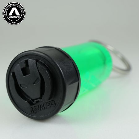 Scuba Choice Diving Mini Tank Key Ring with Fade in fade out with rainbow Color