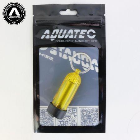 Scuba Choice Diving Mini Tank Key Ring (Yellow)