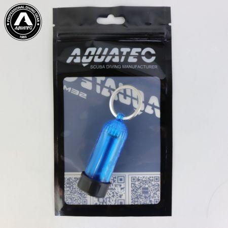 Scuba Choice Diving Mini Tank Key Ring (Blue)