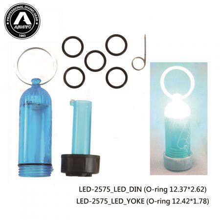 Scuba Blinking LED Tank Light