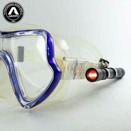 LED-1720 স্কুবা পুশ-বাটন সুইচ মিনি হালকা মাস্ক আলো