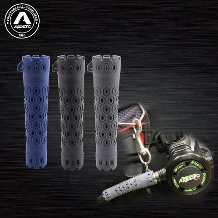 Beidseitige Schlauchschutzkombination für Atemregler - HP-500 Beidseitige Schlauchschutzkombination für Atemregler