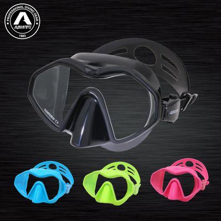 Farben der Sonderedition Gerätetauchen Schnorcheln Maske - Tauchmaske bunt