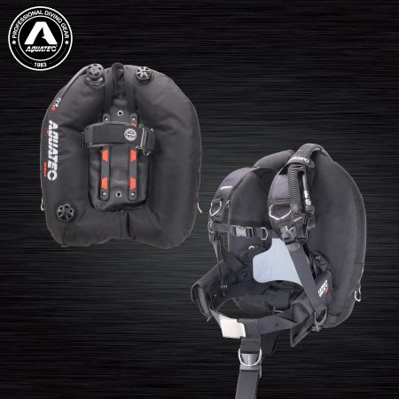 Tec Dive X-wing pro BCD - Military backmount BCD
