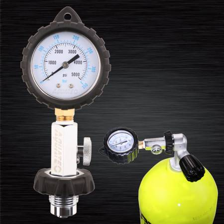DIN tank pressure checker - Din pressure checker