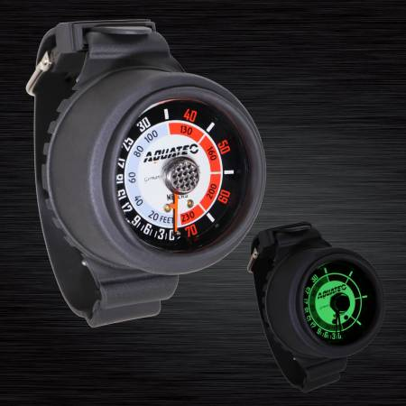 Scuba Depth Gauge - Aquatec Scuba Depth Gauge