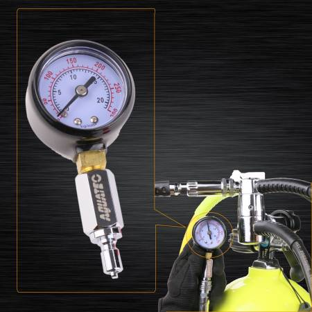 Intermediate pressure gauge - Intermediate pressure gauge