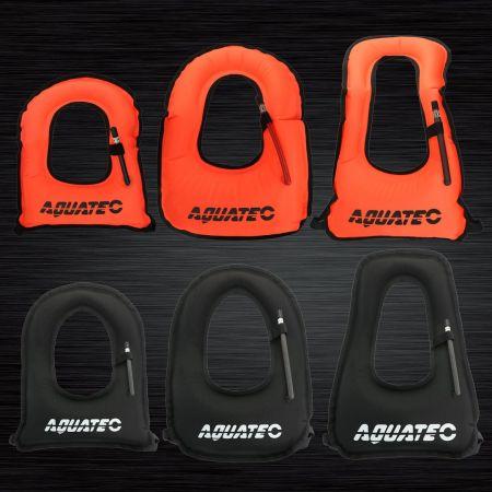Vuxen snorkelväst för hästkrage - BC-012a Scuba Safety Sonrkel Vest