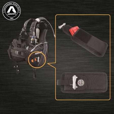 Weight pocket - scuba weight pocket