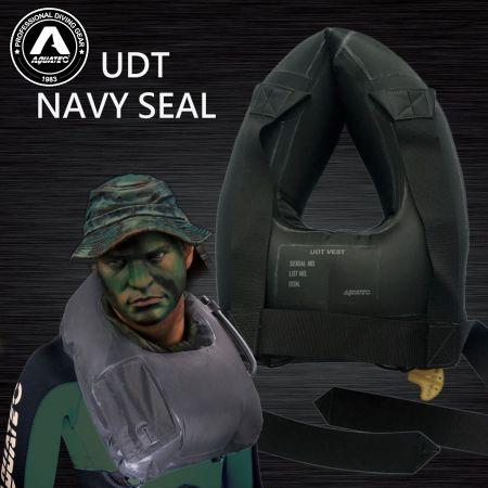 UDT/NAVY SEAL Flotation Life Vest - UDT seal