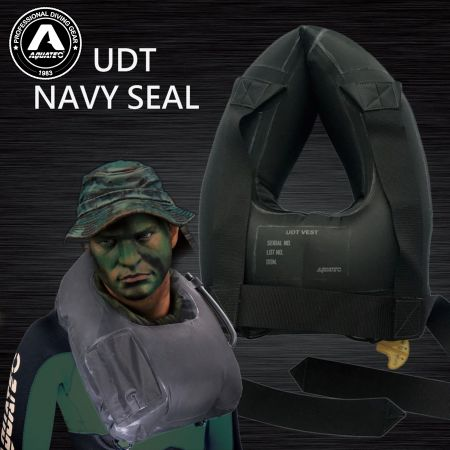UDT/NAVY SEAL Flotation Life Vest - UDT seal