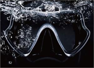 Máscara / Barbatanas / Snorkel - Máscara de mergulho, Snorkel de mergulho, Nadadeiras de mergulho