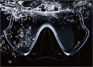 หน้ากาก / ตีนกบ / ดำน้ำตื้น - หน้ากากดำน้ำ, ดำน้ำตื้น, ตีนกบดำน้ำ