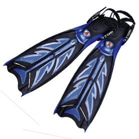 Scuba Split Fins - FN-600 Screw Split Fins